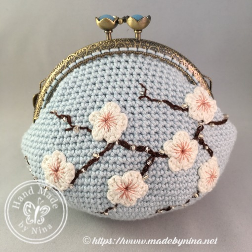 Cherry Blossom *Card Purse