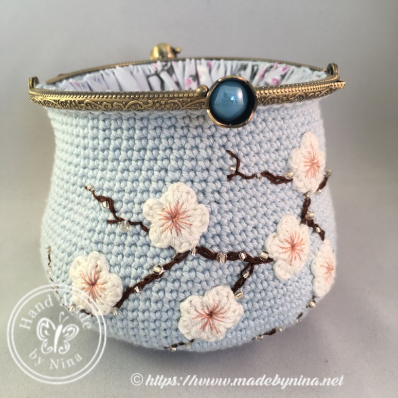 Cherry Blossom *Card Purse (open)