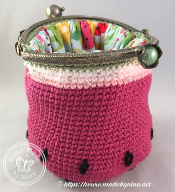 Watermelon *Card Purse (Open)