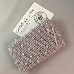 Silver *Card Pouch
