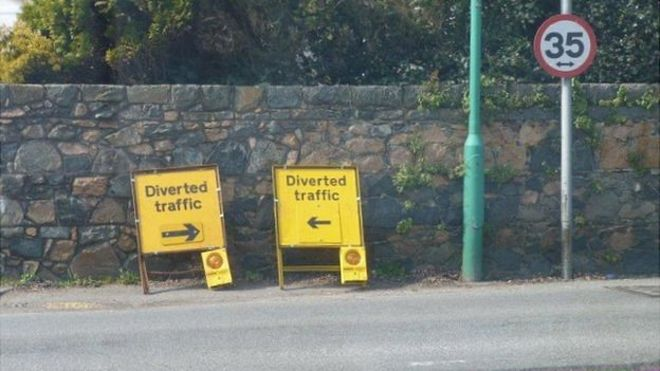The mysteries of Guernsey Road diversions