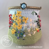 Forever Spring Garden *Card Purse II (Open)