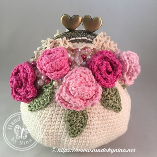 Rose *Card Purse