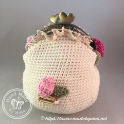 Rose *Card Purse (back)