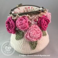Rose *Card Purse (open)