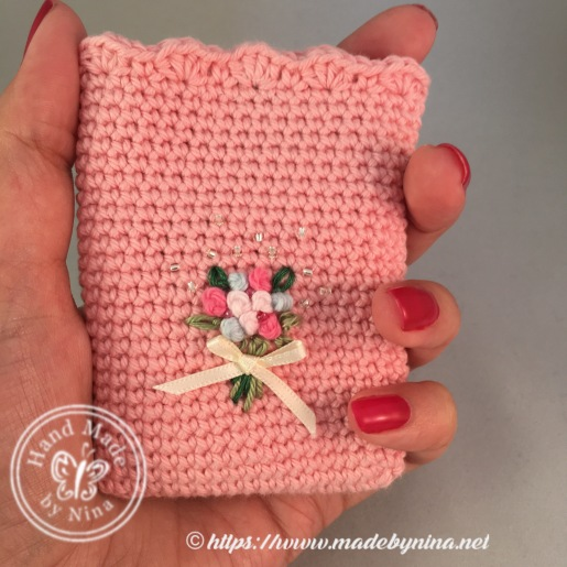 Rose Posy *Card Pouch (Hand held)