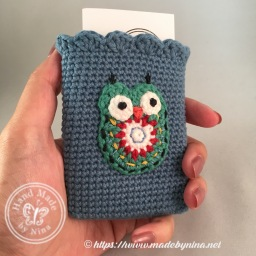 Owl *Card Pouch (Hand held)