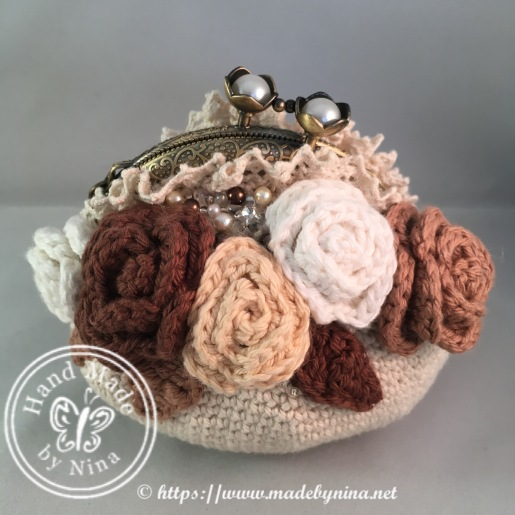 Vintage Rose *Card Purse