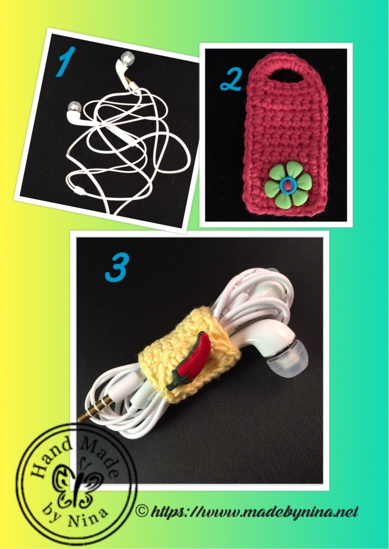 Earphone *Cable Tidy - how they work