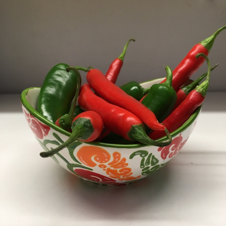 J's chilli bowl glazed and fired ready for Christmas