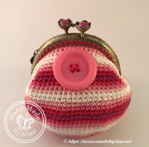 Button *Card Purse