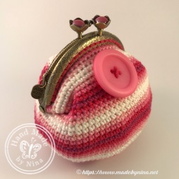 Button *Card Purse (side view)