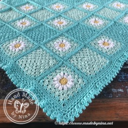 Mom's Daisy blanket