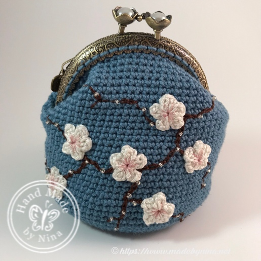 Mandy's *Cherry Blossom coin purse
