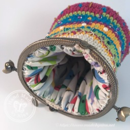 LLHM Raffle 1 Crochet Purse (inside)