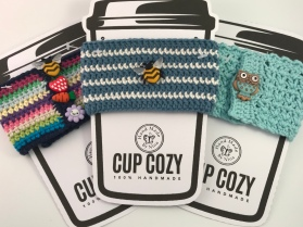 *Cup Cozy (bundle of 3 #4)