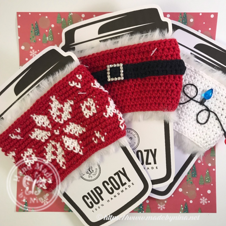 Christmas Cup Cozy's