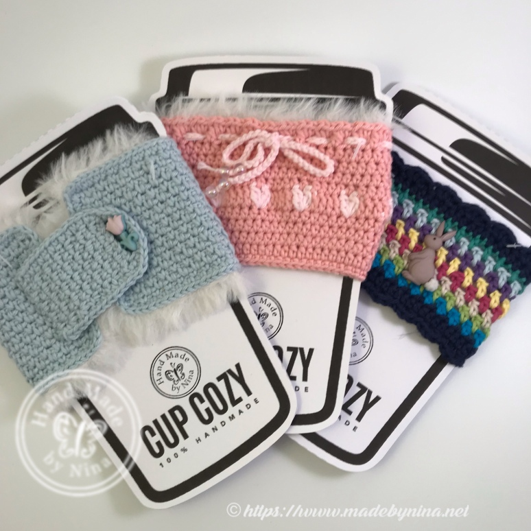 *Cup Cozy (bundle of 3 #5)